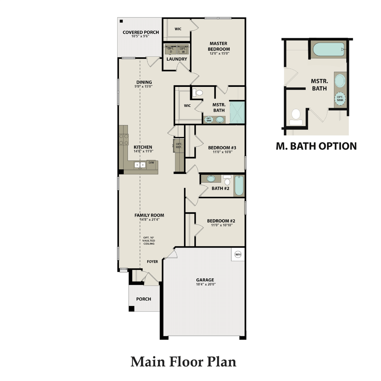 The Anderson Floor Plan Stunning New Homes By Davidson Homes